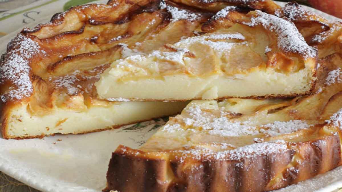 gâteau aux 2 pommes