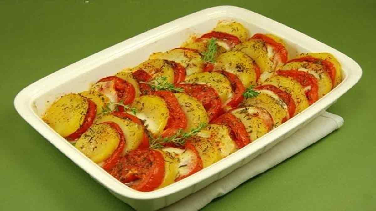 gratiné de tomates