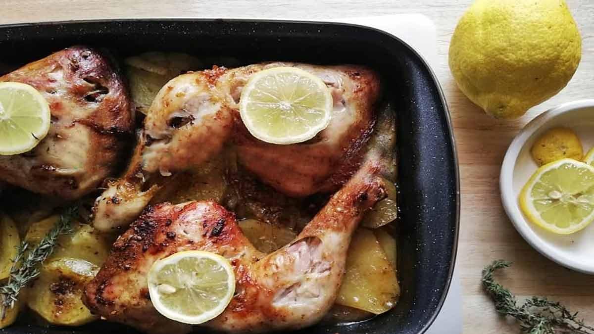 poulet enfourné