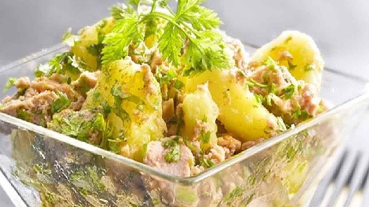 salade thon-pommes de terre