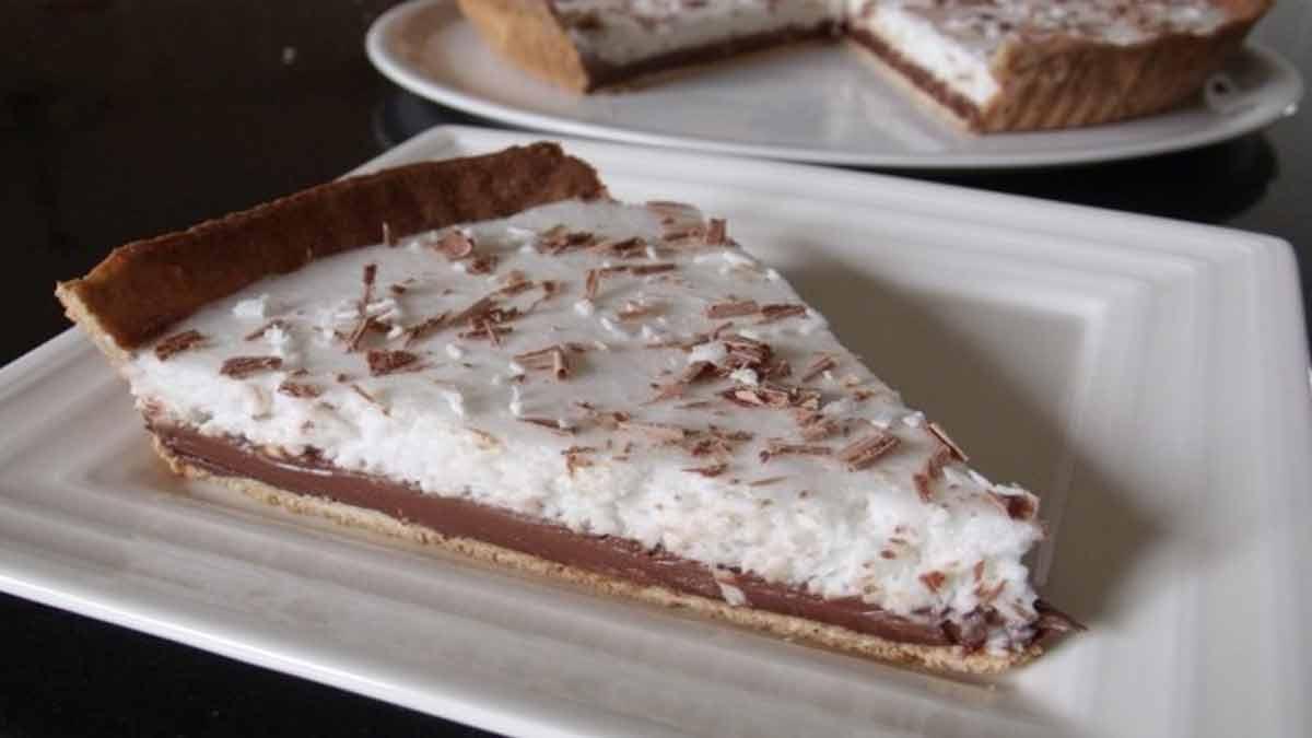 tarte chocolatée