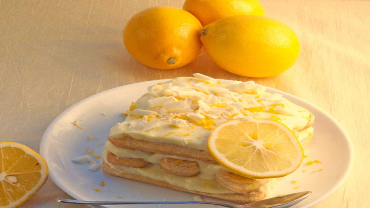tiramisu citronné