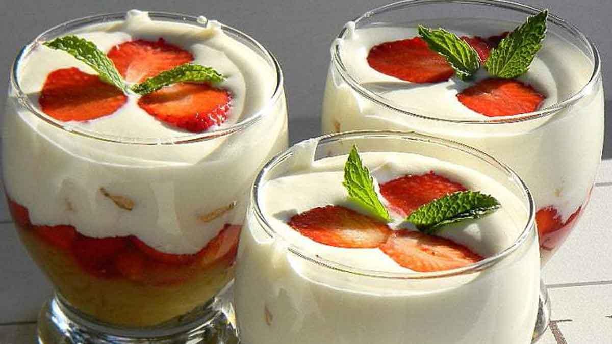 trifle et mousse