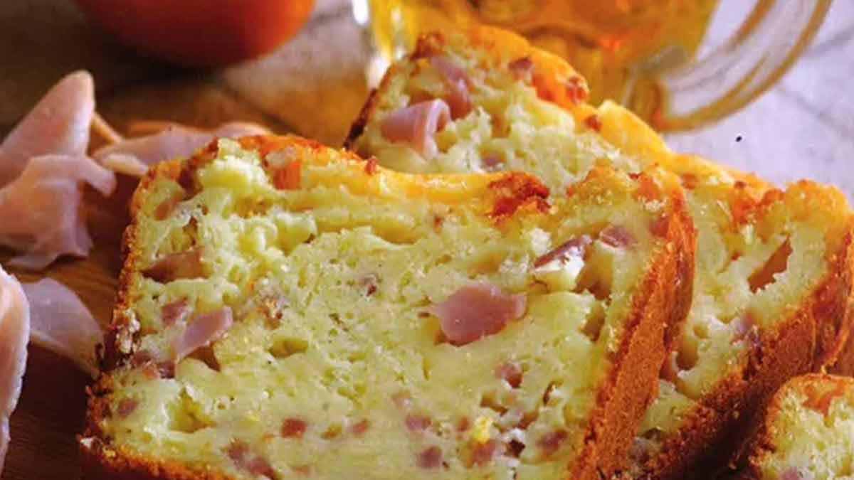 cake cheddar jambon-gruyère