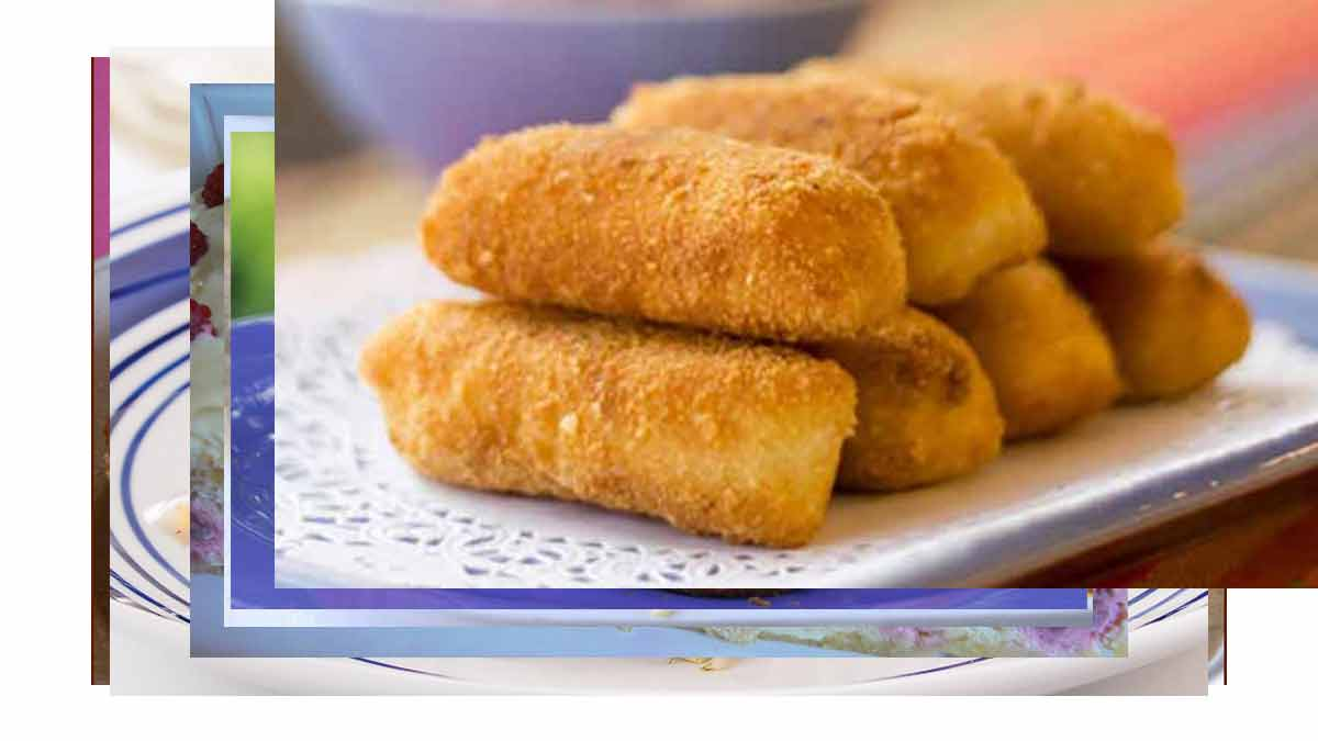 croquettes de pommes de terre à la mozzarella