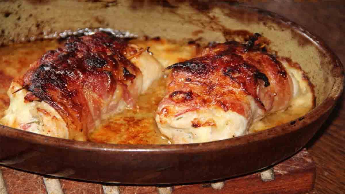 poulet à la saltimbocca