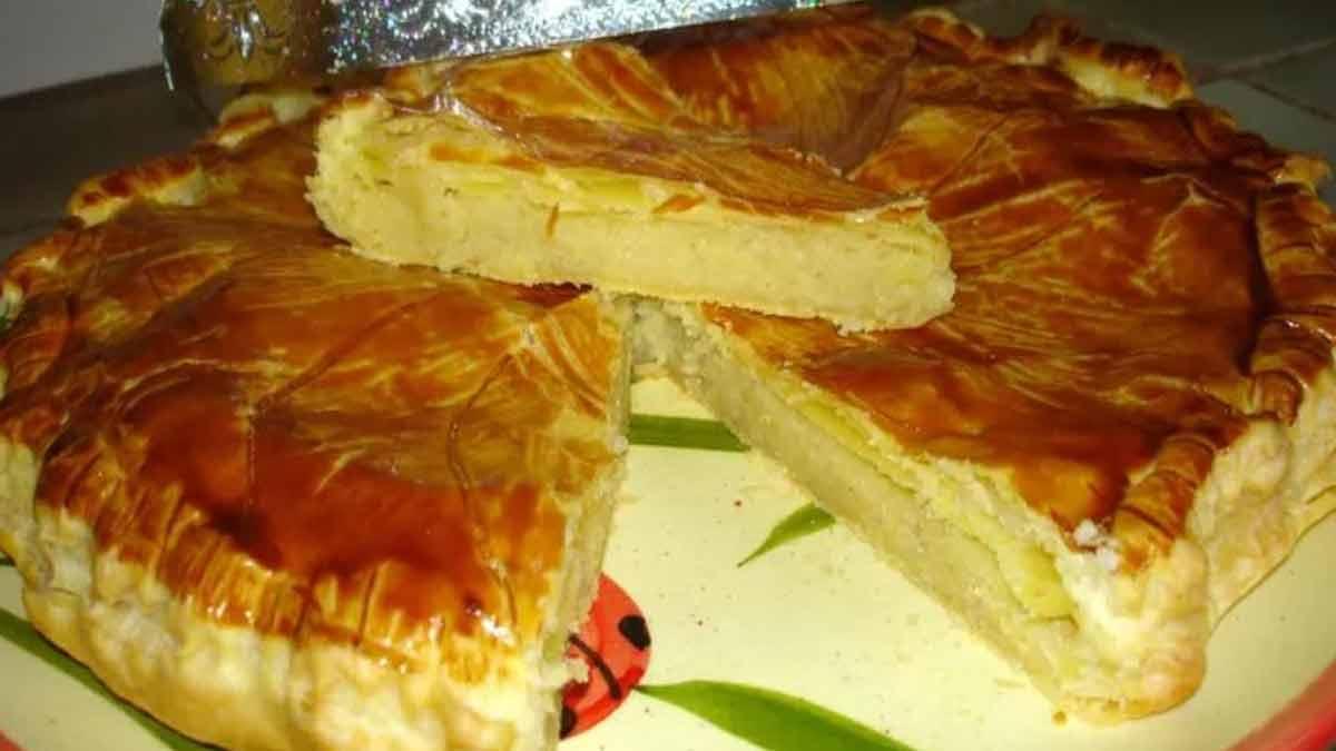 galette des rois crème pâtissière-amande