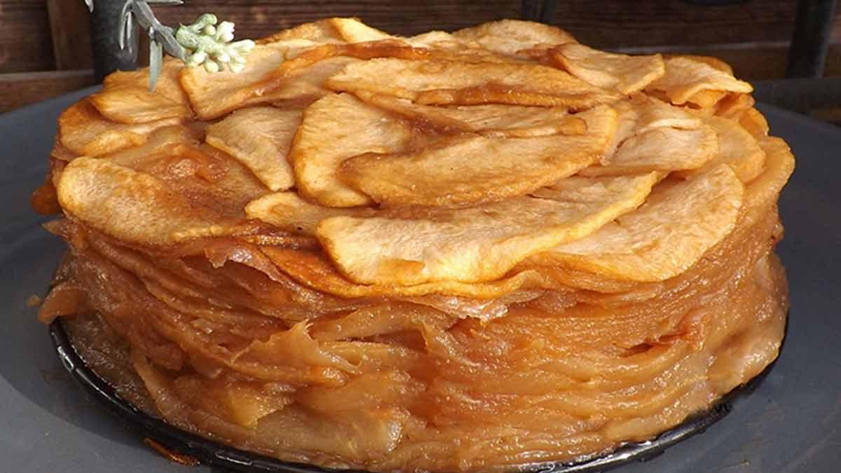 gâteau pommes-confites