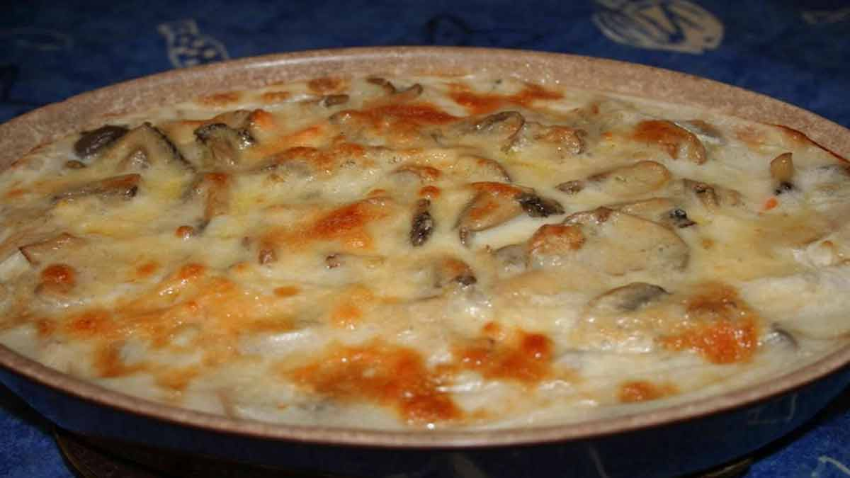 gratiné homard-crevettes