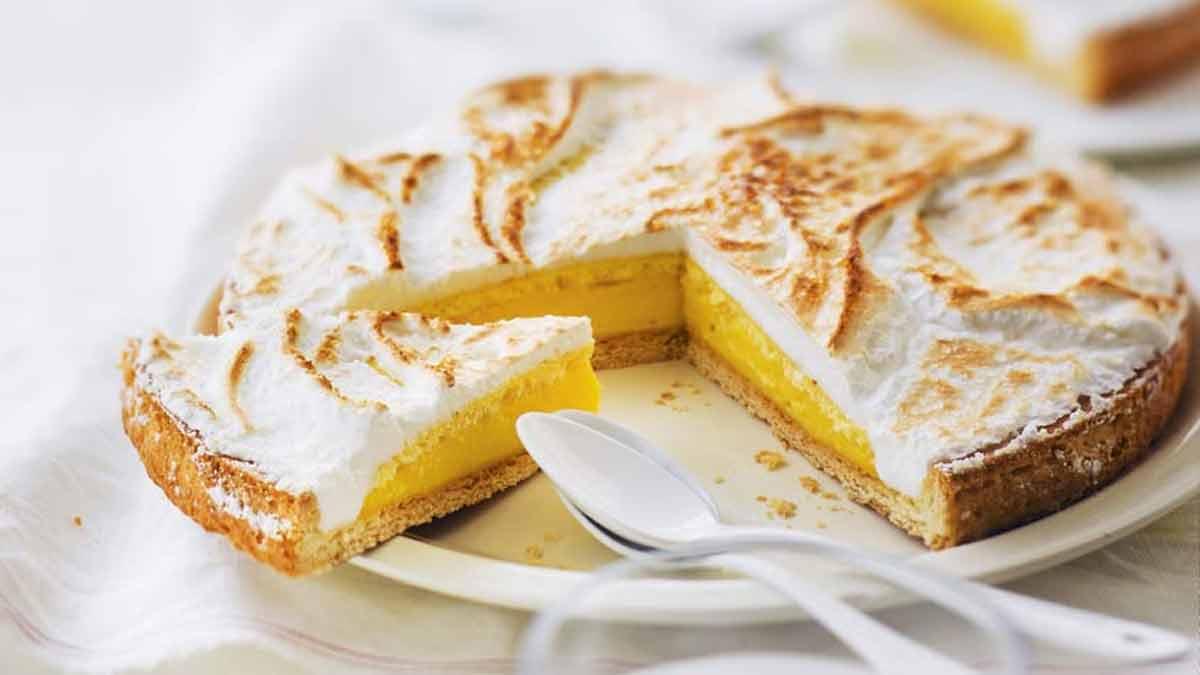 tarte citron-meringue italienne