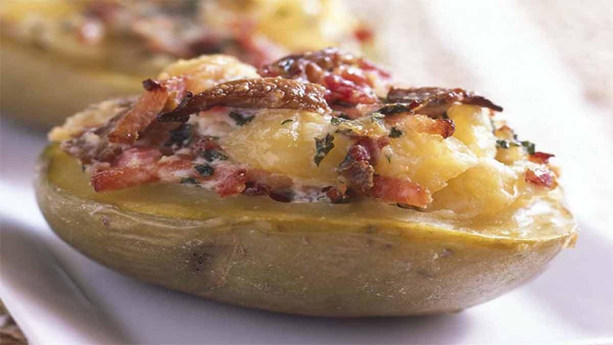 farces de pommes de terre aux lardons