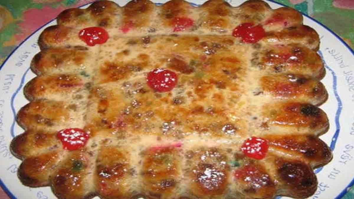 pudding en crêpe