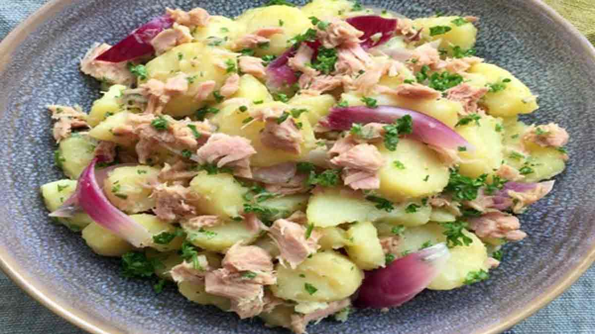 salade oignon-pommes de terre