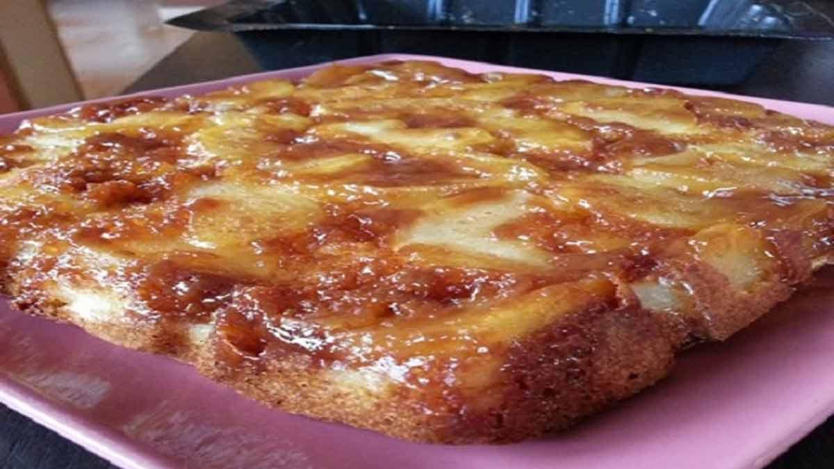 tablette de pommes au carameltablette de pommes au caramel
