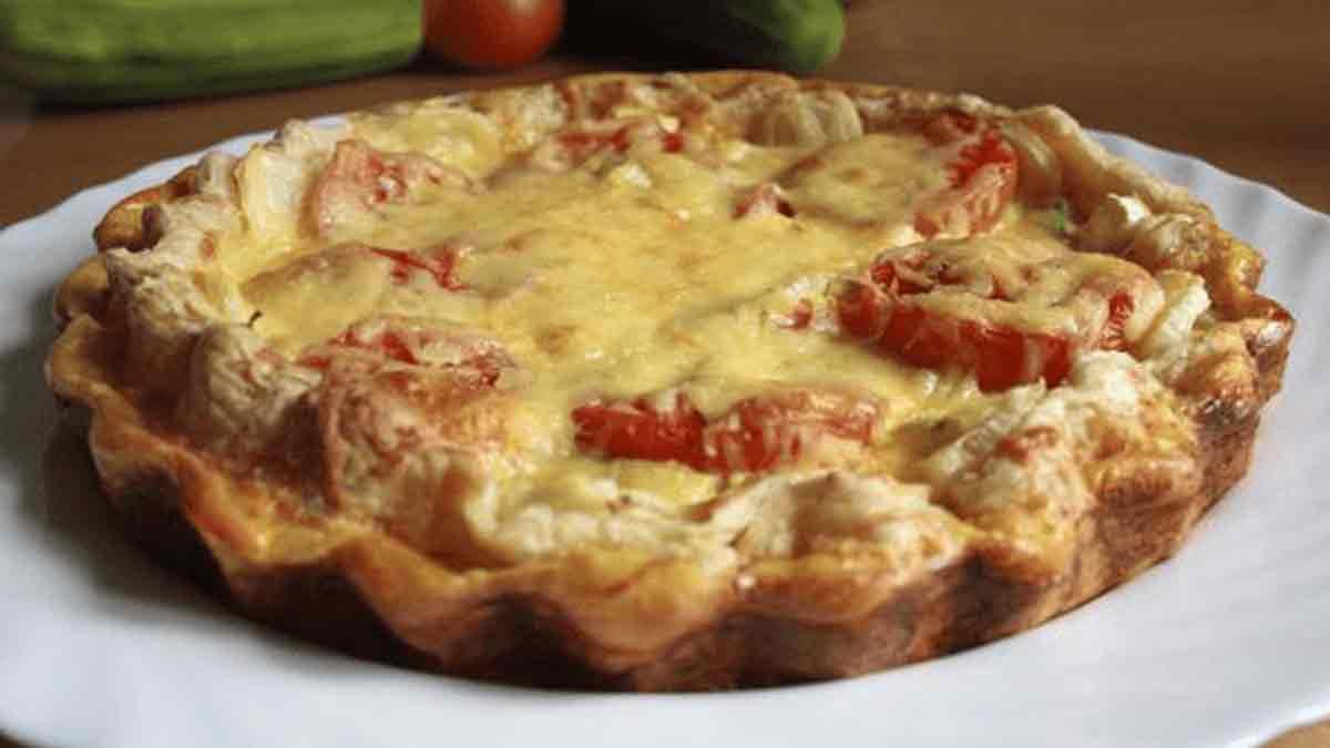 tarte tomates-thon à la moutarde