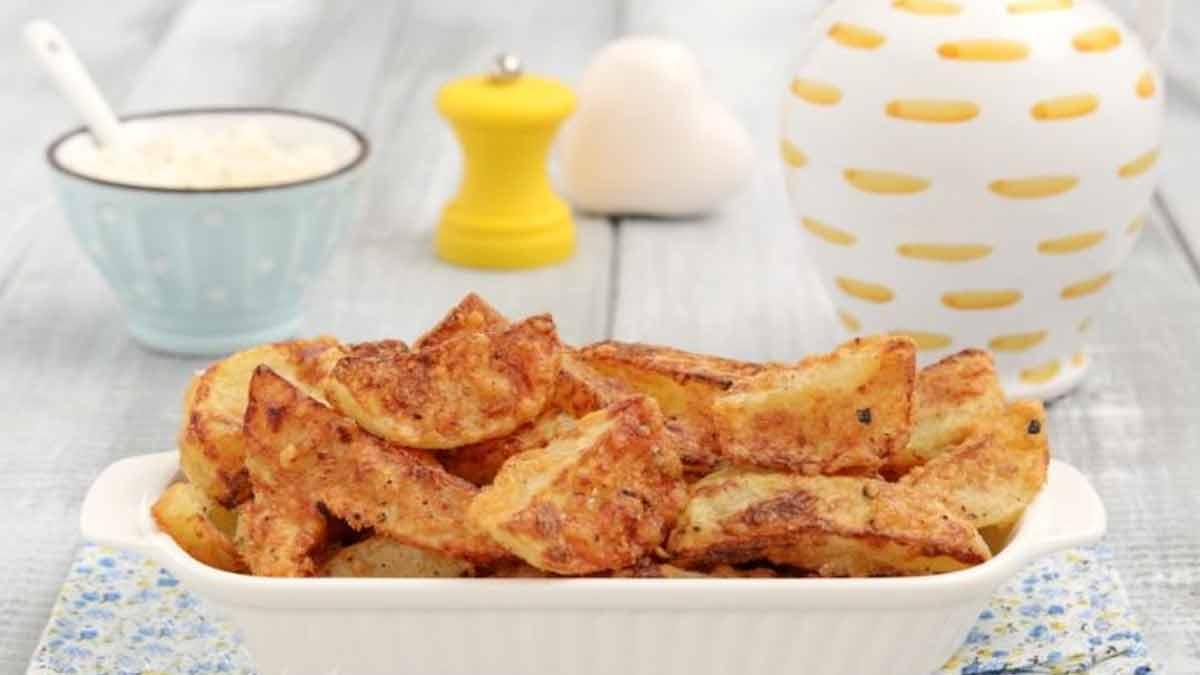 Croustillantes pommes de terre cuites au four