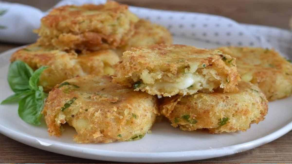 beignets de pommes de terre au fromage