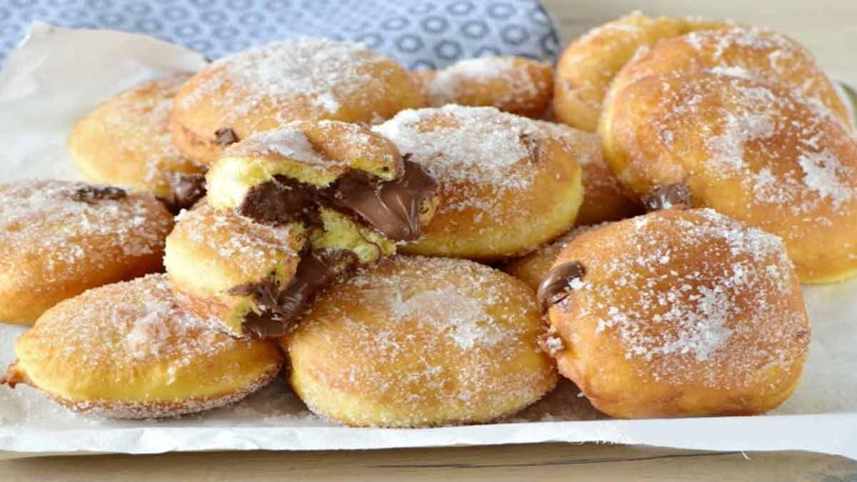 mini-brioches au Nutella