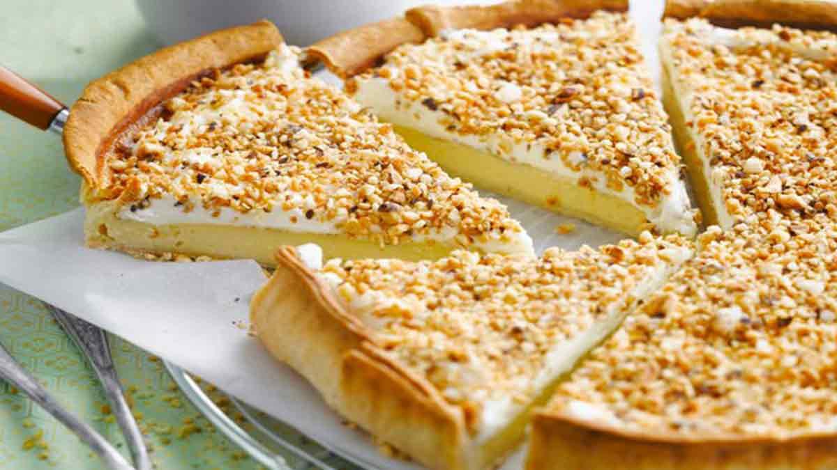 tarte brésilienne au double fromage