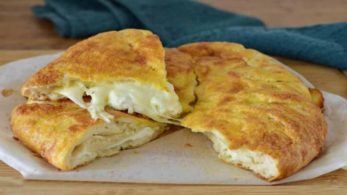 fougasse à la mozzarella et yaourt