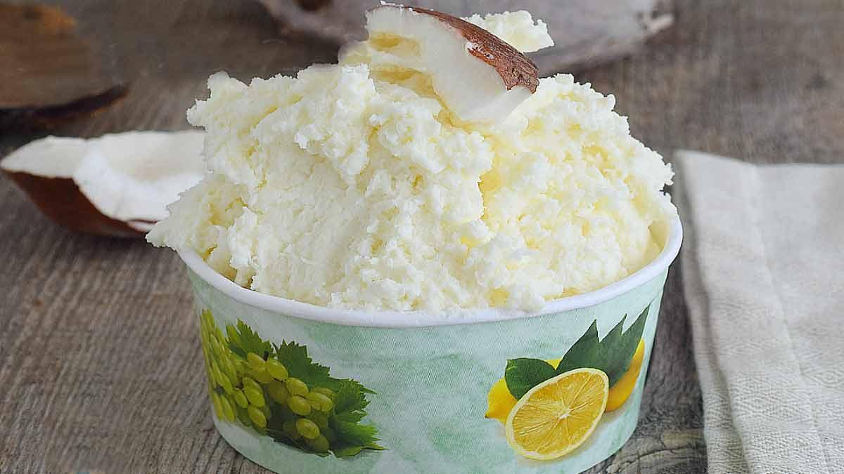 glace coco sans œuf