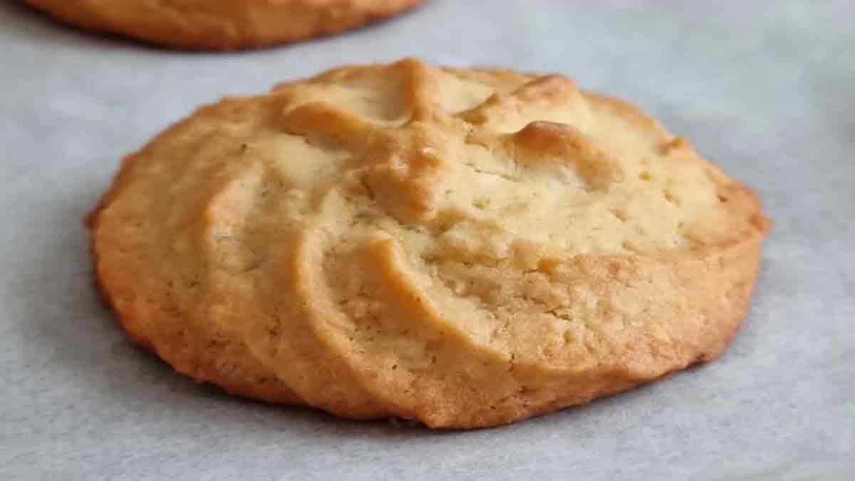 biscuits à la vanille friables
