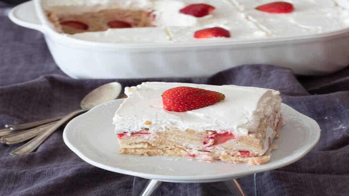 tuile fraises-yaourt
