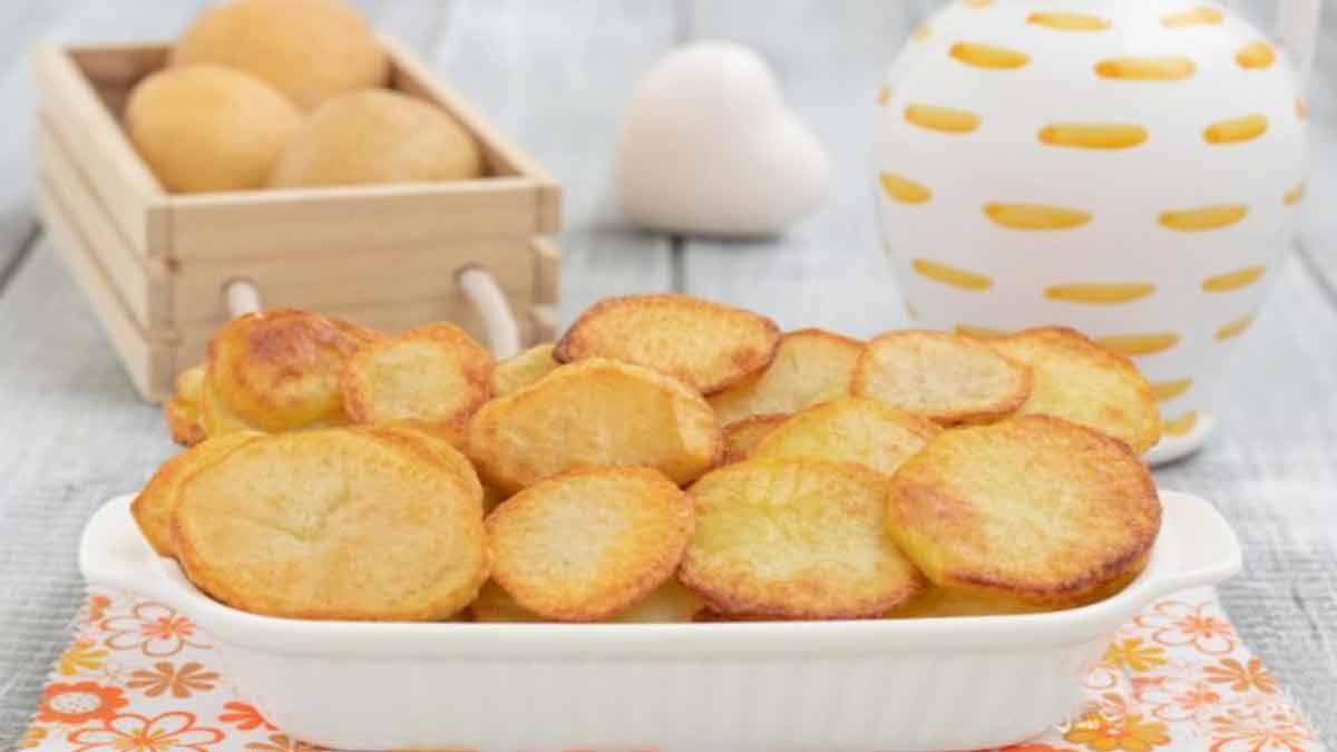 pommes de terre croquantes