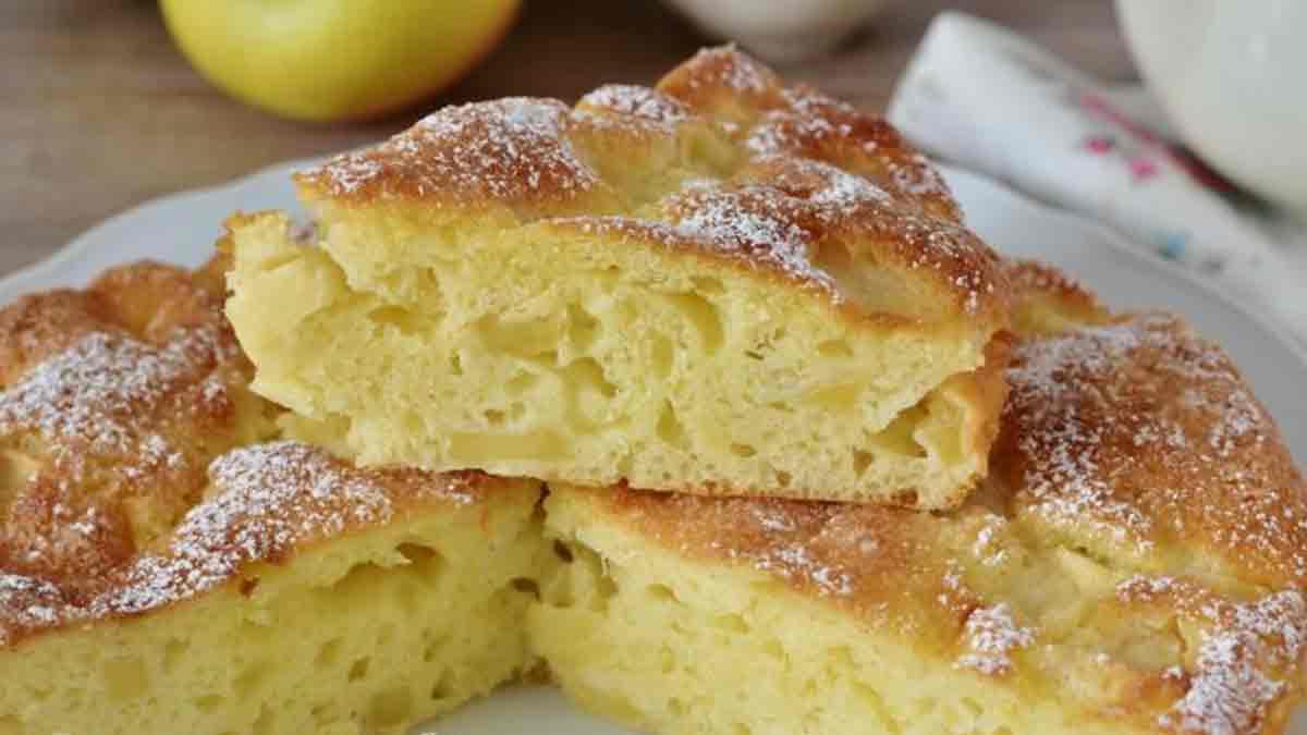 tarte aux pommes et yaourt grec