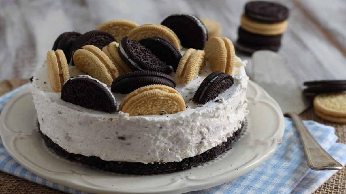 cheesecake Oréo au mascarpone