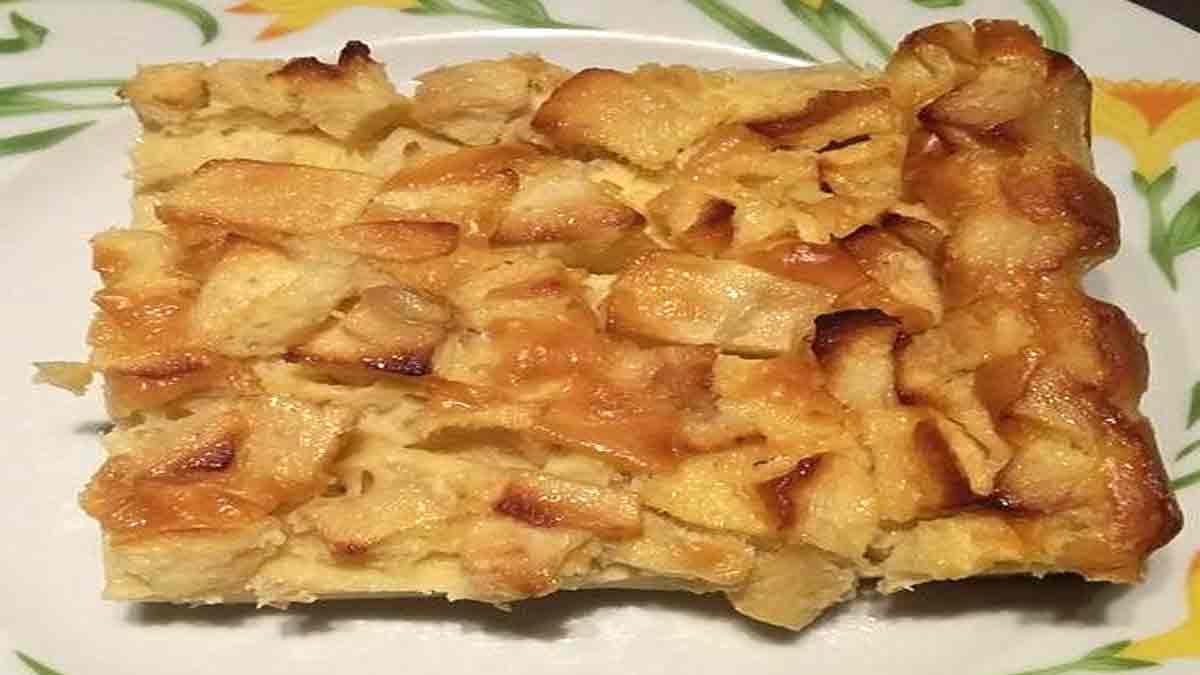 Délicat clafoutis aux pommes