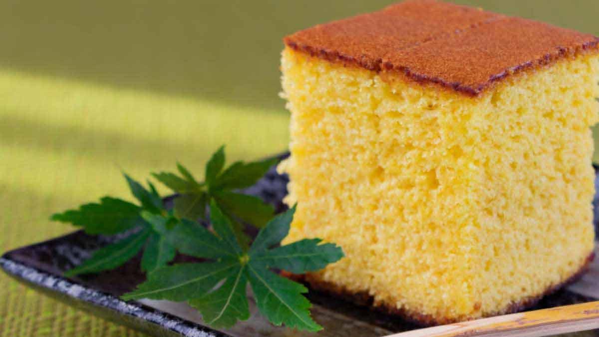 Gâteau à la liqueur et saveur anis