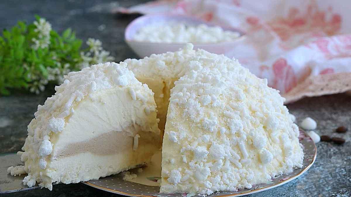 gâteau à la truffe blanche