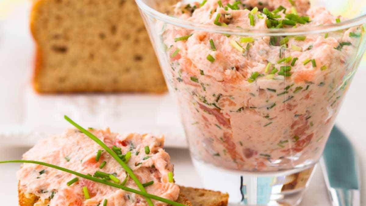 mousse de saumon aux 3 ingrédients