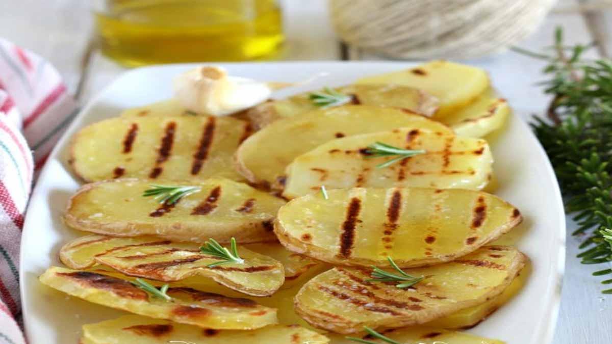 pommes de terre grillées au romarin