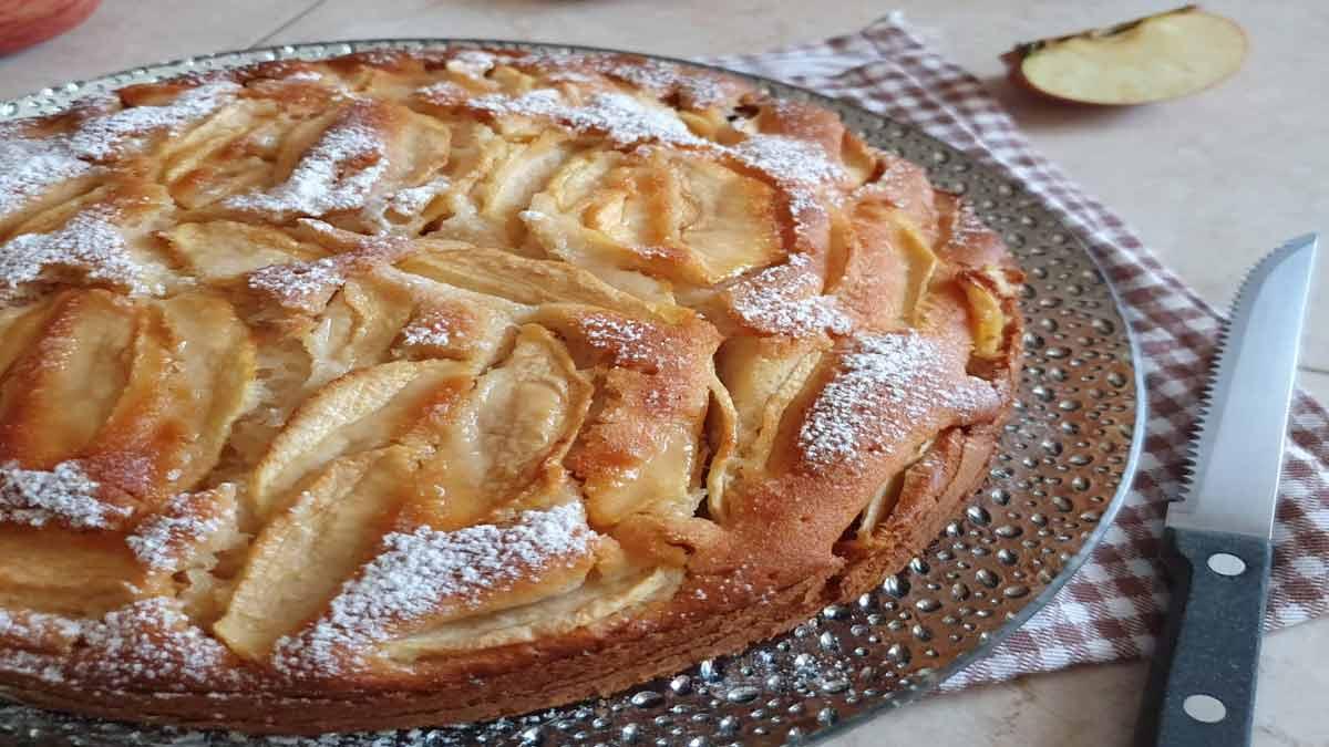 tarte aux pommes de grand-mère