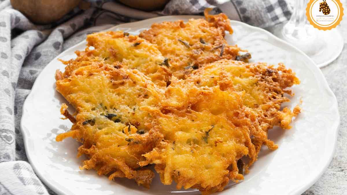 Croustillantes galettes de pommes de terre au fromage