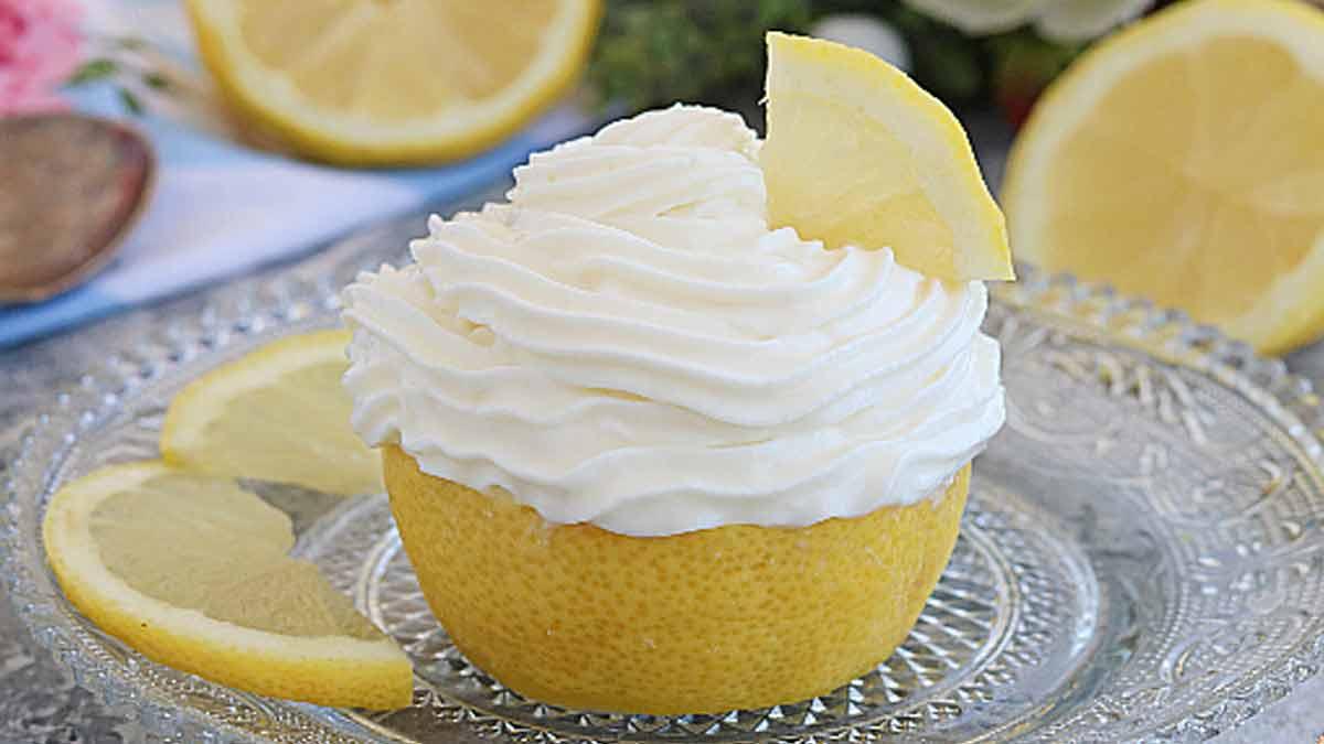 Délicate mousse au citron