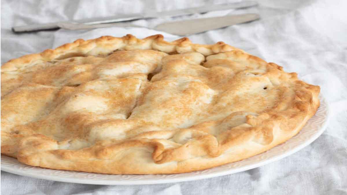 Délicieuse tarte aux pommes caramélisées
