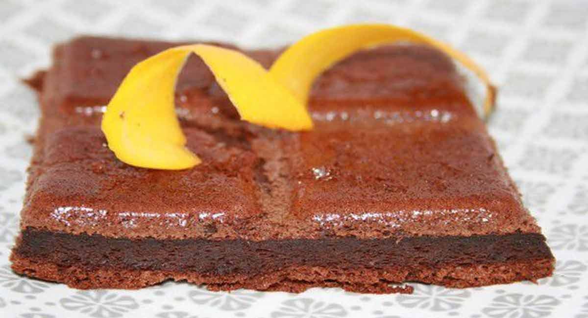 Délicieux gâteau chocolat courgettes au Thermomix