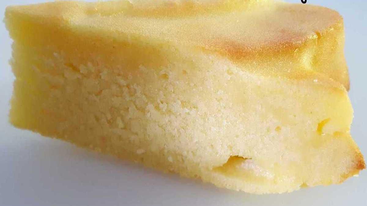 Merveilleux gâteau au yaourt à la vanille