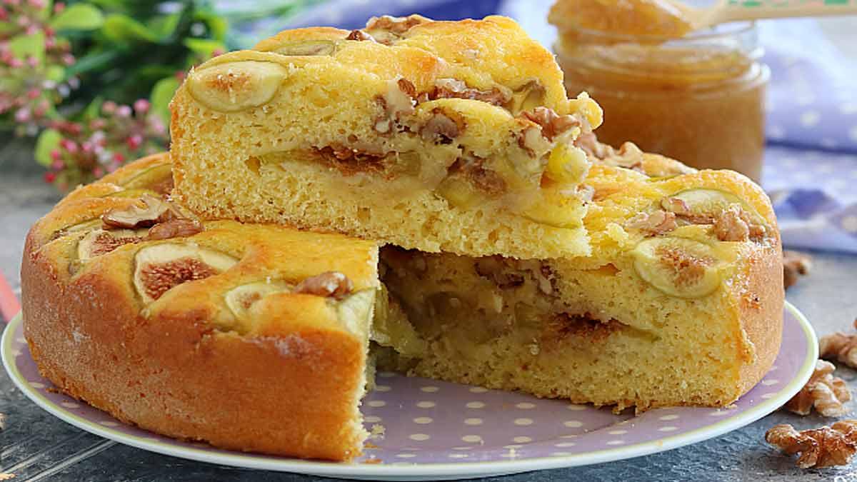 Simplissime gâteau de figues et yaourt