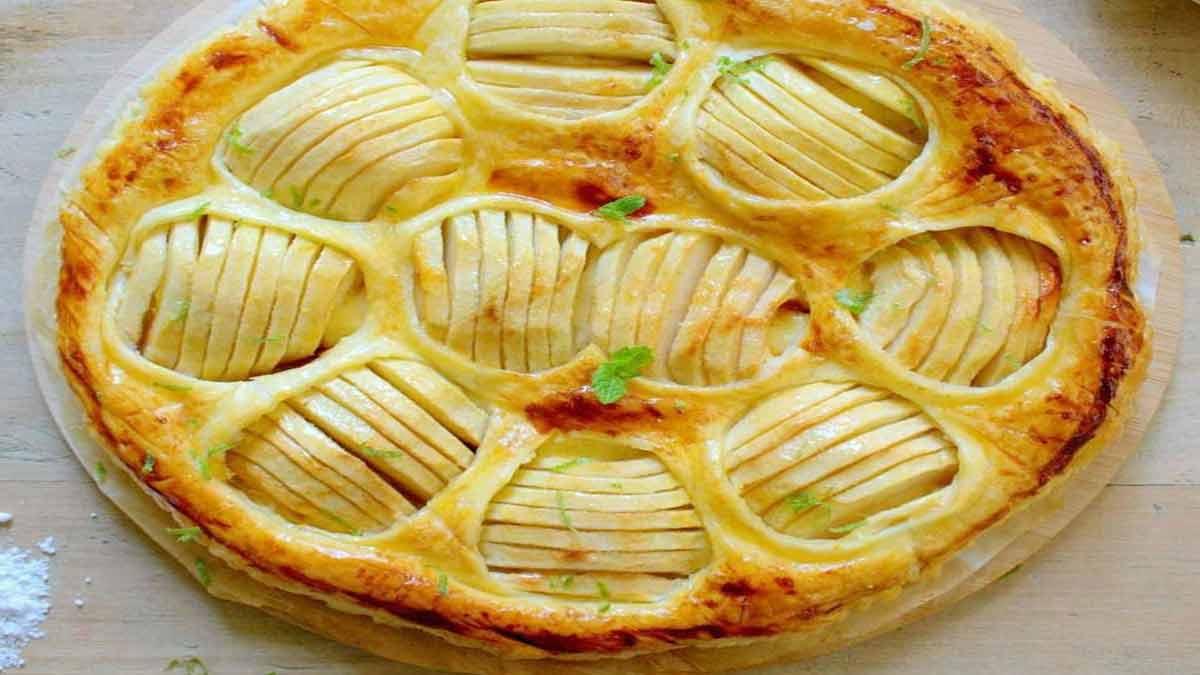 Sublime tarte aux pommes feuilletée