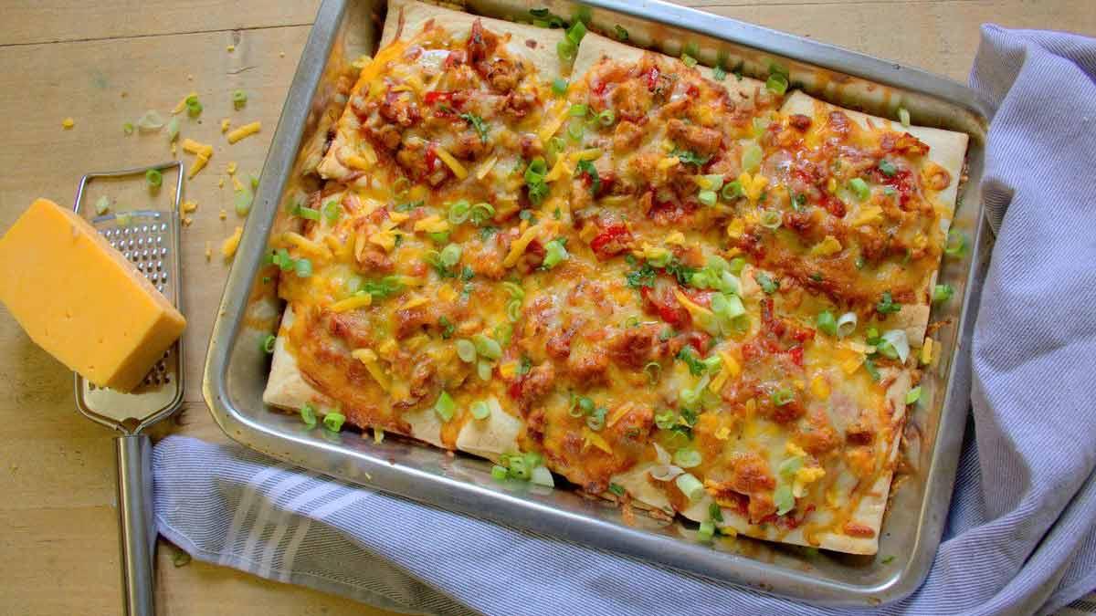 Succulentes enchiladas au poulet