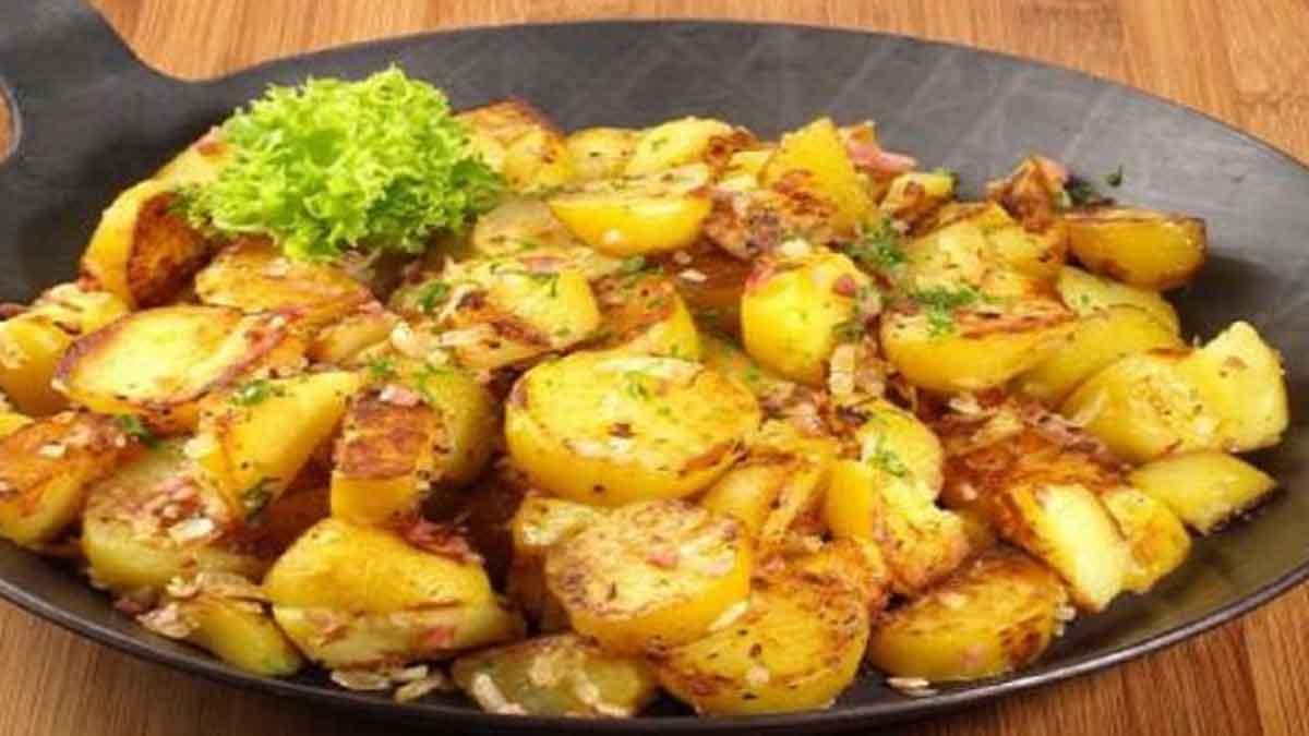 pommes de terre tyroliennes sautées au fromage