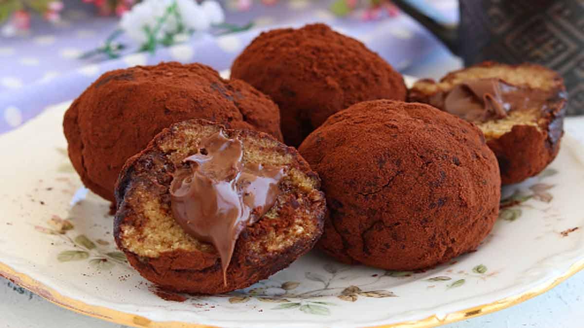 truffes au tiramisu et au Nutella