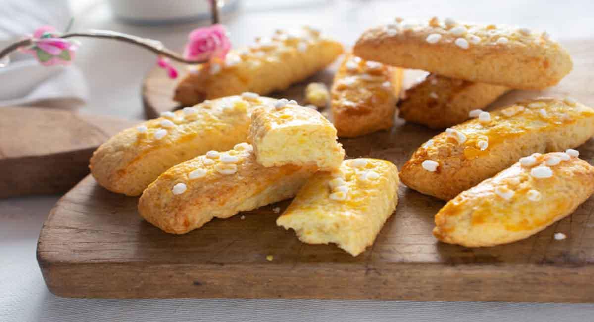 Biscuits au citron très moelleux
