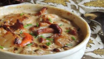 Cassolettes de Saint-Jacques et de langoustines aux marrons