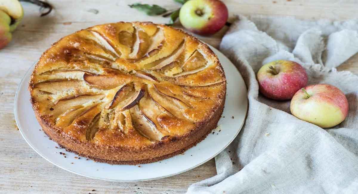 Gâteau aux deux pommes
