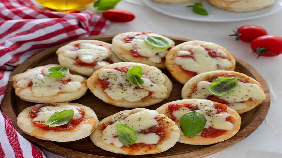 Mini pizzas cuites à la poêle